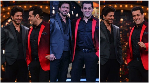 Bigg Boss 10: Salman Khan & Shah Rukh Khan's captivating CHEMISTRY on the sets of the show! See pics!
