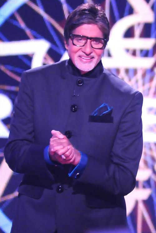 Amitabh Bachchan in KBC Photo Sony TV