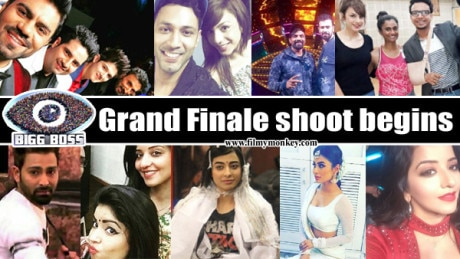 Bigg Boss 10 Grand Finale shoot beings: Mouni Roy & evicted contestants Karan Mehra, Rohan & others spotted on the sets! PICS!