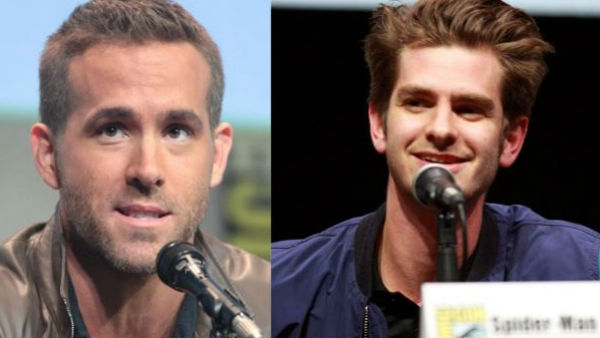 Kissing Ryan Reynolds at Golden Globes was ridiculous, says Andrew Garfield.