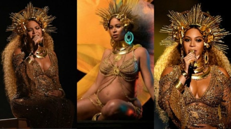 SEE PICS: Beyonce SLAYS it with her spectacular QUEEN look at Grammys 2017!