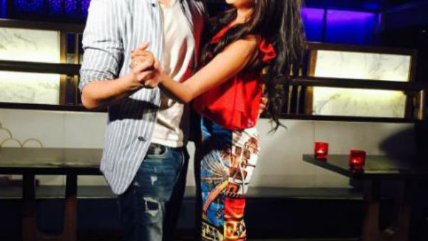 Bigg Boss 10 contestant Rohan Mehra wishes beau Kanchi singh on Valentine's Day with this adorable picture!
