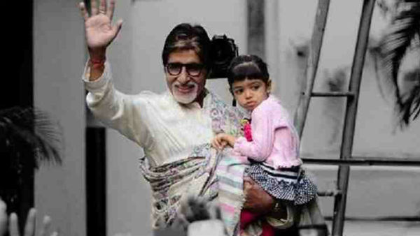 Big-B's 'perfect' Valentine's Day date with baby Aradhya
