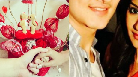 Photos: Check out how BIGG BOSS10 Contestant Rohan Mehra expressed his love for lover Kanchi on this Valentine's Day