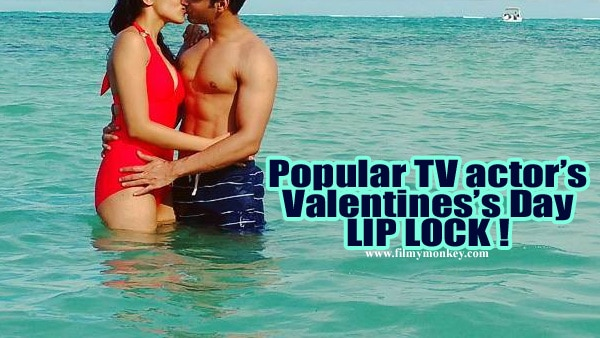 Popular TV actor seals love with a KISS on Mauritius trip for Valentine's Day!