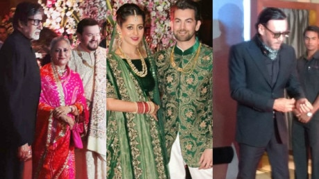 PHOTOS: Neil Nitin Mukesh's GRAND RECEPTION; Amitabh Bachchan-Jaya, Jackie Shroff & other Bollywood stars grace the occasion