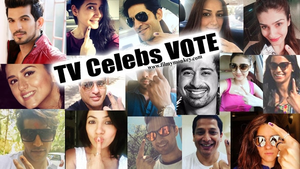 BMC Election 2017: 'Naagin 2' actor Karanvir Bohra & other TV Celebs VOTED & posted a pic!
