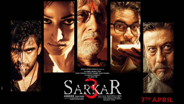 Big B, Jackie Shroff look fierce in 'Sarkar 3' poster!