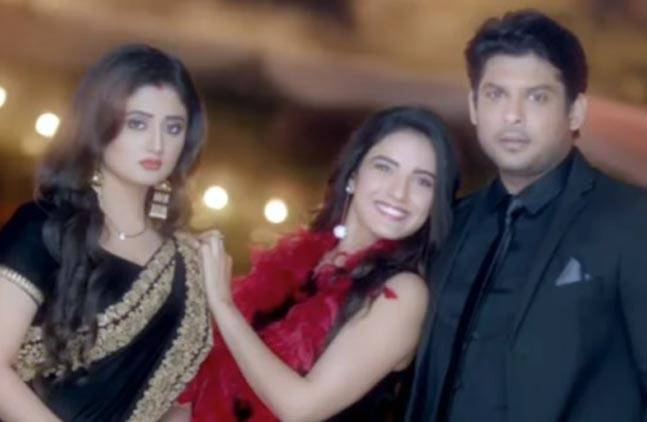 Siddharth with co-stars Rashmi & Jasmin in 'Dil Se Dil Tak' (Photo: Colors)