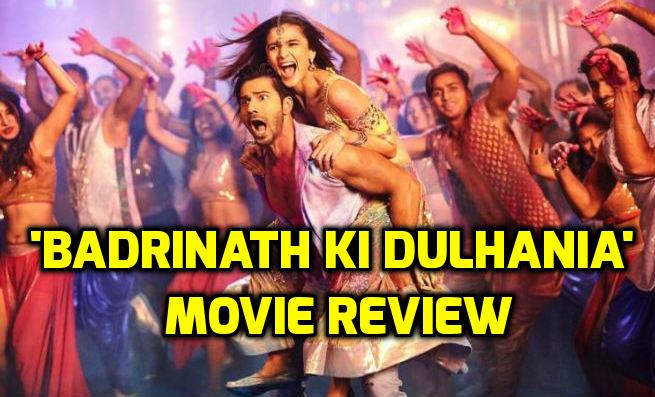'Badrinath Ki Dulhania' REVIEW: Alia Bhatt-Varun Dhawan starrer is frothy & cliched!