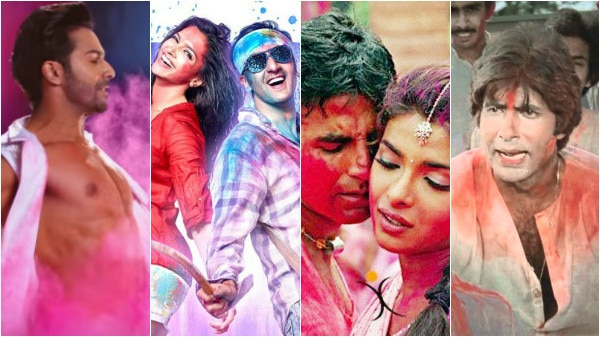 From 'Aare Jaa Re hat Natkhat' to 'Balam Pichkari': Top 10 Bollywood Holi songs will add more COLOURS to your celebration!
