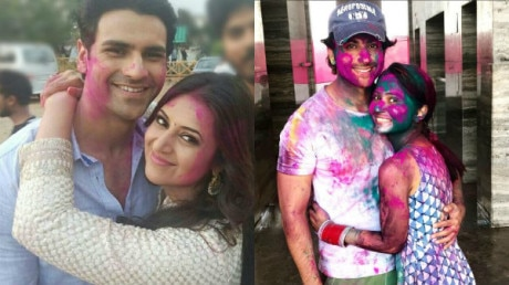 IN PICS: From Divyanka-Vivek to Monalisa-Vikrant & other POPULAR TV couples' FIRST HOLI after WEDDING!