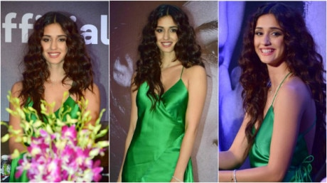 PHOTOS: Disha Patani looks GORGEOUS in green at the launch of her own mobile app!