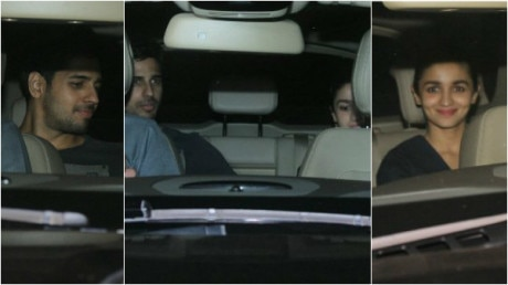 PHOTOS: Alia Bhatt & alleged boyfriend Sidharth Malhotra at 'Phillauri' screening TOGETHER!