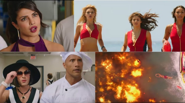The Third trailer of Priyanka Chopra's and Dwayne Johnson Baywatch is here and we're all hearts for it!