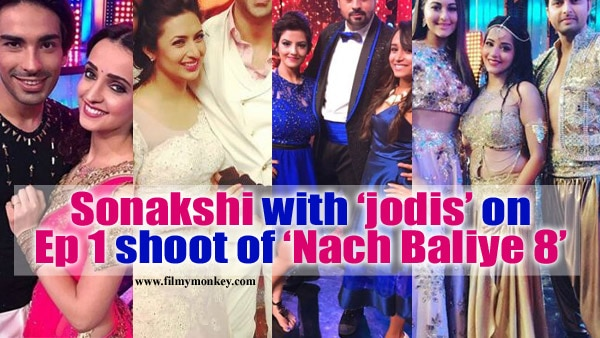 Nach Baliye 8: Episode 1 shoot begins with judge Sonakshi Sinha & the celebrity jodis! In PICS!