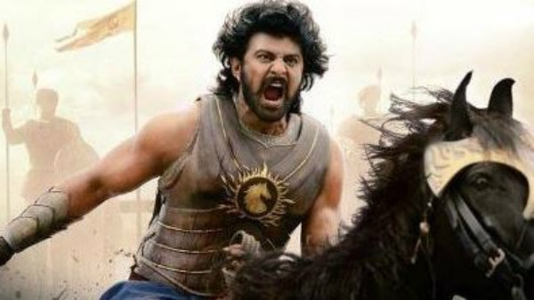 Prabhas in a still from 'Baahubali'