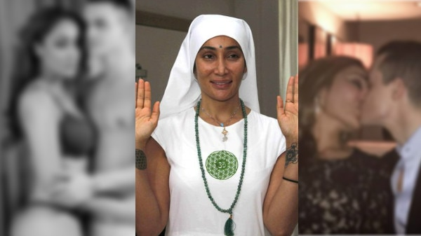 Ex Bigg Boss contestant & self-proclaimed 'NUN' Sofia Hayat shares LIP-LOCK PIC on social media! MORE PHOTOS INSIDE!
