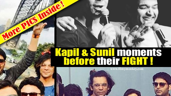 LAST PIC together of Kapil Sharma, Sunil Grover moments before their PLANE FIGHT will make you go Sigh!