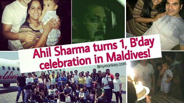 Ahil Sharma 1st Birthday PICS: Celebration in Maldives, Mamu Salman Khan reaching from Austria too!