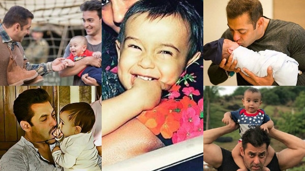 Happy B'day Ahil Sharma: Here are 10 Adorable pictures of Salman Khan with nephew!