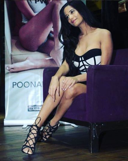 Poonam Pandey at her app 'The Poonam Pandey App' launch