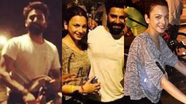 PICS: 'Bigg Boss 10' couple Manveer Gurjar-Nitibha Kaul's NIGHT OUT on streets of Mumbai!
