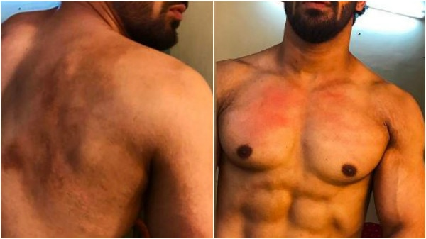 When 'Ghulaam' actor Vikkas Manaktala whipped himself HARD for REAL in a scene!