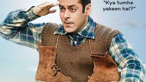 Tubelight Poster: REASON behind shoes hanging in Salman Khan's neck REVEALED!