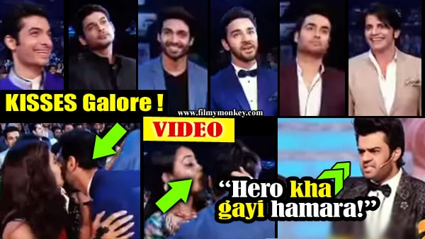 Colors GPA 2017: Video: KISSING challenge for TV stars Vivian Dsena, Karanvir Bohra, Ssharad Malhotra, Sidharth Shukla!