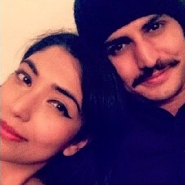 Rajat Tokas with wife (Photo: Instagram)