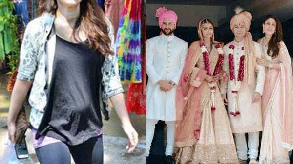 IN PICS! Saif Ali Khan's sisiter Soha Ali Khan flaunts baby bump in style