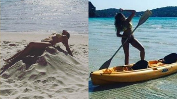 IN PICS: Nargis Fakhri gives Oomph a whole new meaning with her super hot bikini avatar!