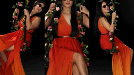 IN PICS: Bollywood SEDUCTRESS Sunny Leone poses on a swing for a SEXY photo shoot!