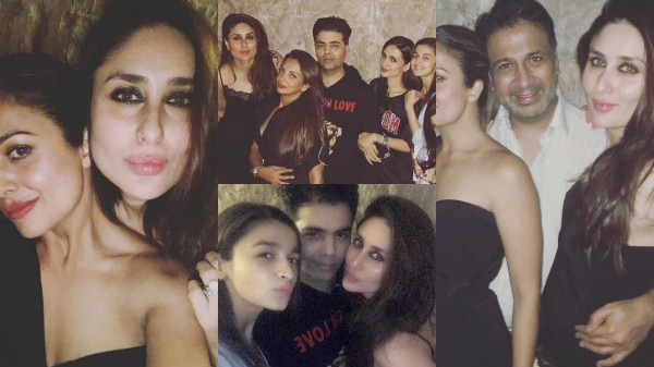 PHOTOS: Kareena Kapoor with hubby Saif & her GIRL GANG, love birds Alia-Sidharth PARTY HARD under one roof!