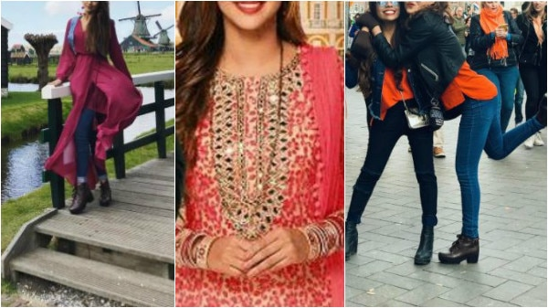 'Brahmarakshas' actress Krystle D'Souza is having a great time in Amsterdam with her friend & the pics will give you major vacation goals!