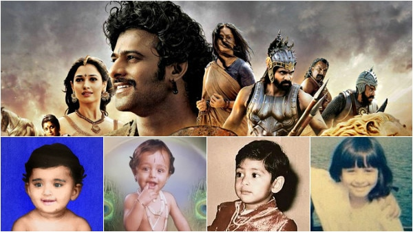 The childhood pics of 'Bahubali 2' stars Prabhas, Rana Dagubatti, Anushka & Tamanna are TOO CUTE to handle!