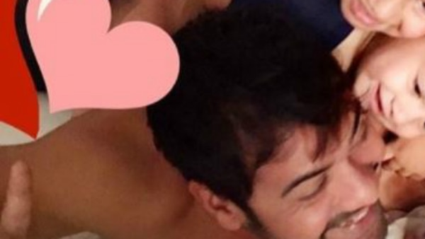 SEE PIC: 'Kumkum Bhagya' actor Shabir Ahluwalia's adorable moment with his KIDS will melt your hearts!