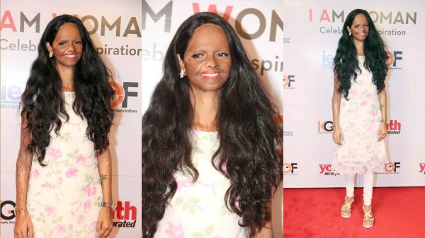 IN PICS: Acid attack survivor Laxmi Agarwal SHINES at the 'I Am Woman Awards' in Mumbai!
