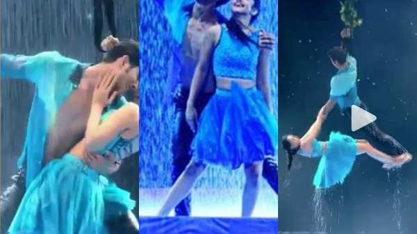 WATCH: 'Nach Baliye 8' couple Sanam & Abigail's SIZZLING & ROMANTIC water act on STAGE will make you go WOW!