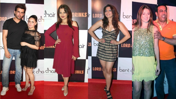 PHOTOS: Jay-Mahhi, Gaurav Chopra, Deepshikha & other TV CELEBS at the launch of a Resto-bar in Mumbai!