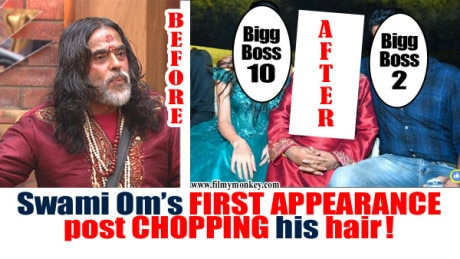 Swami Om SPOTTED wearing a WIG; Partied with Ashutosh Kaushik & Priyanka Jagga!