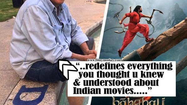 "Baahubali 2: ""redefines everything you thought u knew & understood…"" -Mahesh Bhatt"
