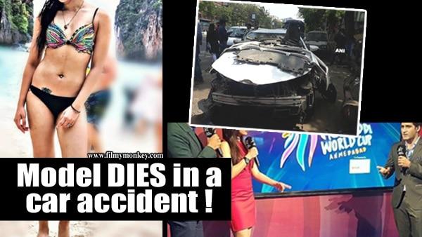 Miss India finalist & Pro Kabaddi host Sonika Chauhan dies in a car accident; Alleged Boyfriend severely injured!