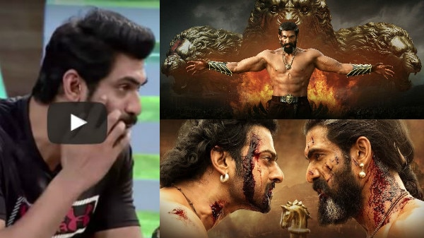 OMG! Baahubali's Bhallaladeva aka Rana Daggubati is BLIND in one eye; WATCH actor's SHOCKING REVELATION!