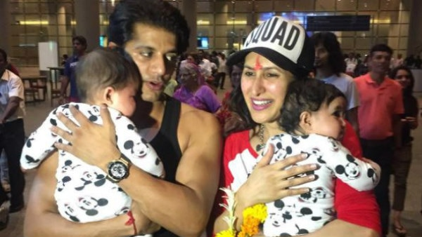 'Naagin 2' actor Karanvir Bohra reveals the cutest NICKNAMES of his adorable twin daughters!
