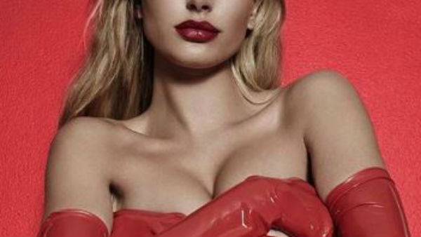 Hailey Baldwin poses topless for campaign!