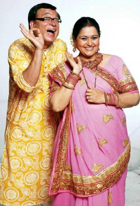 Praful & Hansa from 'Khichdi'