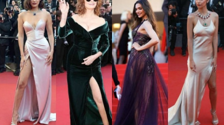 CANNES 2017, DAY 1: PICS- Deepika Padukone STEALS THE SHOW on the opening day; Models Bella Hadid, Hailey Baldwin & Emily Ratajkowski rule the RED CARPET in their RACY gowns giving a dazzling start to the annual FRENCH RIVIERA!