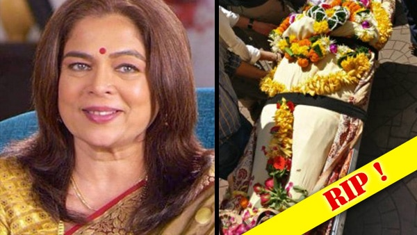Last rites of veteran actress Reema Lagoo performed in Mumbai